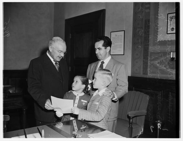 Dental Day proclamation, 1952