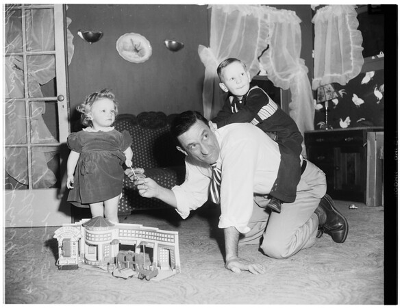 Woods family ..all have birthdays on same day, January 18, 1952