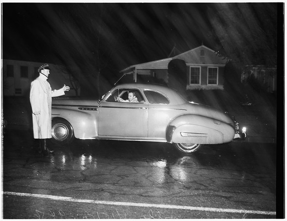 Storm in the valley, 1952