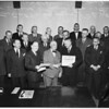 Judge Baird retires, 1952