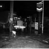Auto versus truck accident, 1952
