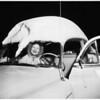 Snow at Lake Arrowhead, 1952