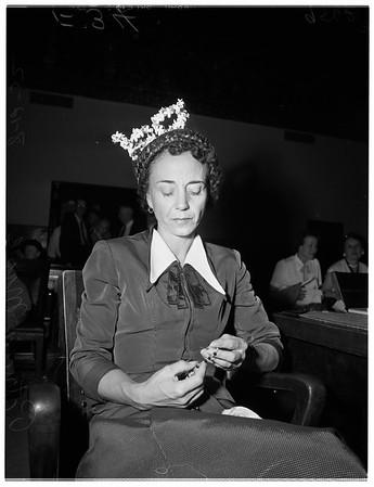 Murder trial, 1952