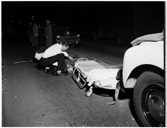 Traffic fatality (10000 West Pico Boulevard), 1952