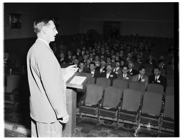 Ministers convocation (annual ministers convocation of Southern California), 1952