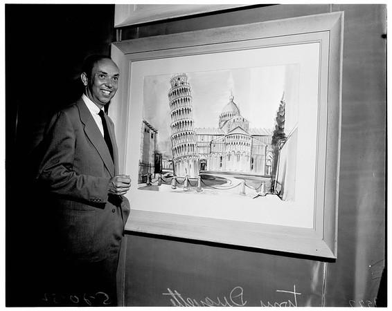 Art exhibit, 1952.