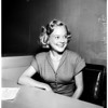Sonia Henie in court, 1952
