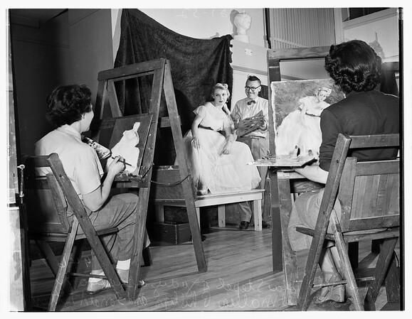 Barnsdall Park hobby craft classes, 1952