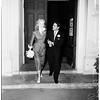 Francis Price wedding, 1952