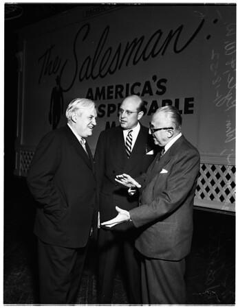 Sales Executive Club meeting at Shrine Auditorium, 1952