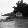 Landslide on Pacific Coast Highway, Santa Monica, 1/2 mile south of Sunset Boulevard ...Part of Bernheimer Gardens, 1952