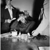 Arrest dope peddler, 1952