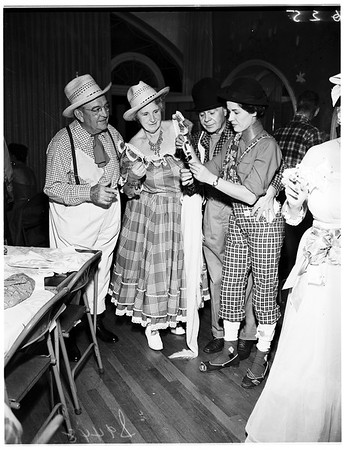 Hard times party, Huntington Hotel, Pasadena, 1951