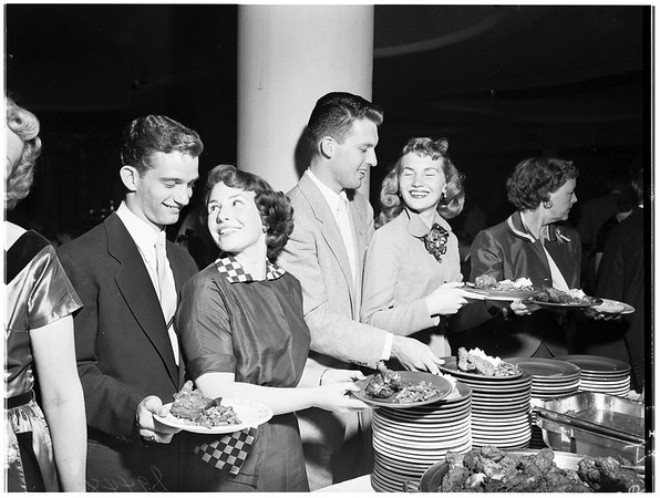 Westside Supper Club party, 1951