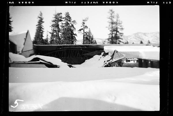 Snow at Big Bear Lake, 1952