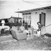 Post storm cleaning up ...Hawaiian Gardens, 1952