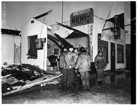 Explosion at 5680 Compton Avenue, 1952
