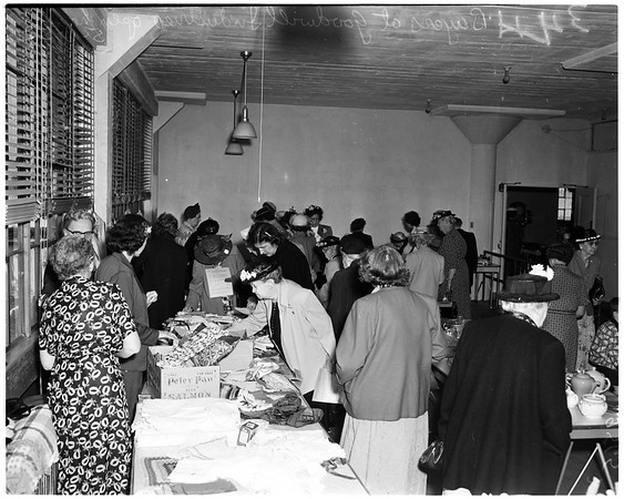 Goodwill Industries open house, 1952