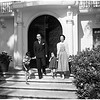 New Japanese Consul-General and family at Official residence, 270 S. Orange Grove Avenue, Pasadena, 1952