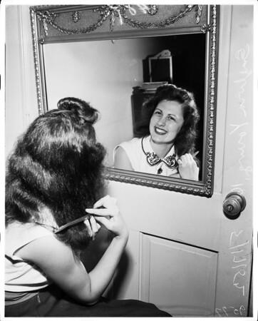 Miss Burbank, 1952.