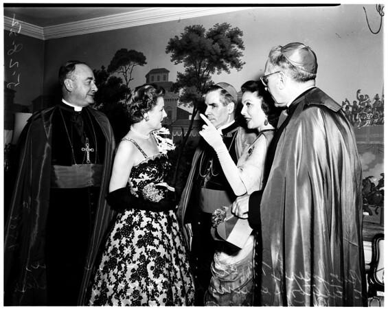 Archbishops dinner (Ambassador Hotel), 1952