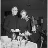 Salvation army tea honoring Lieutenant Colonel Clarke, 1952