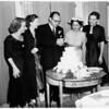 Wedding Reception ...Mrs. Alice O'Neill Moiso becomes bride of Waldo A. Avery Junior, 1951