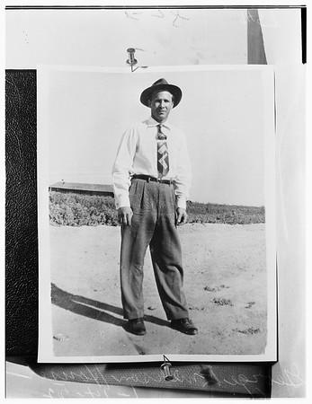 Missing man, 1952