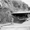 Landslide at 1401 Sunset Plaza Drive, 1952