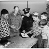 Junior Rifle Club awards...Long Beach ...Police pistol range, 1952