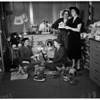 Assistance League Gift Shop, bib and tucker women planning Christmas tea, 1951