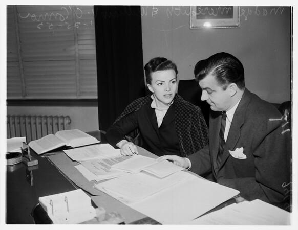 Meredith pardon meeting, 1952