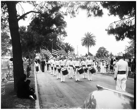 Memorial Day (Santa Monica) Woodlawn Cemetery, 1952