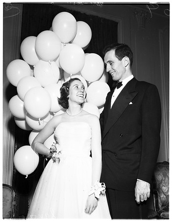 Debut party, 1951