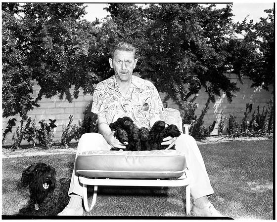 Jerry Sanborn (Palm Springs surveyor), 1952