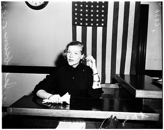 Aucher divorce, 1952