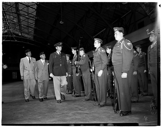 Reserve Officers Training Corps finals, 1952.