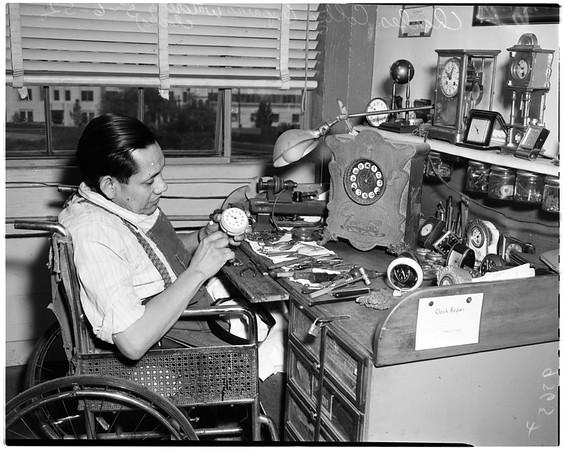Goodwill Industries open house, 1952