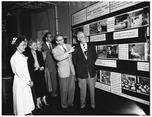 Brentwood Hospital open house, 1952