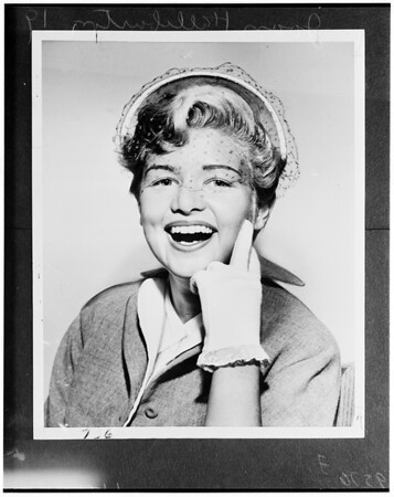 Joan Halliburton divorce, 1952
