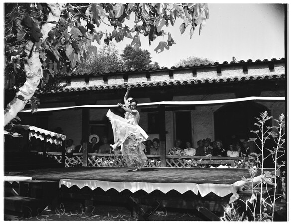 Fiesta of the Casa de Adobe (Monterey Park), 1952