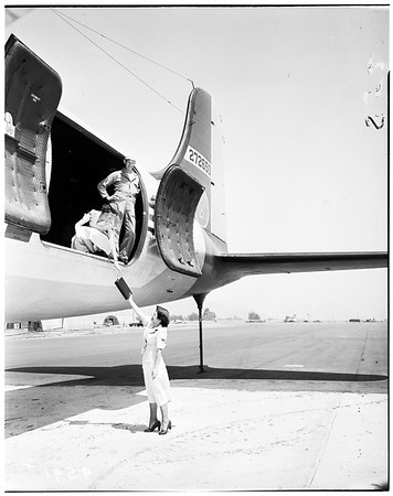 Women's Auxiliary Ferrying Squadron, March Air Force Base, 1952