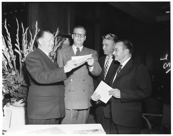 Matrix Table Awards, 1952