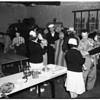 Typhoid innoculations, Los Alamitos, 1952