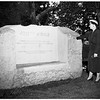Pomona Landmark, Memorial to Joseph M. Paige, 1952