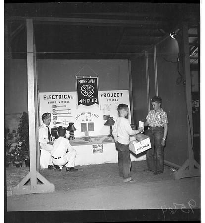Four-H Club Fair in Pomona, 1952