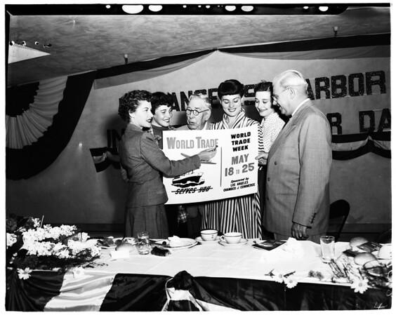 World Trade Week (Industrial Trade Week), 1952.