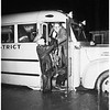 Flood in Artesia and Norwalk ...Evacuation of victims by Red Cross, 1952