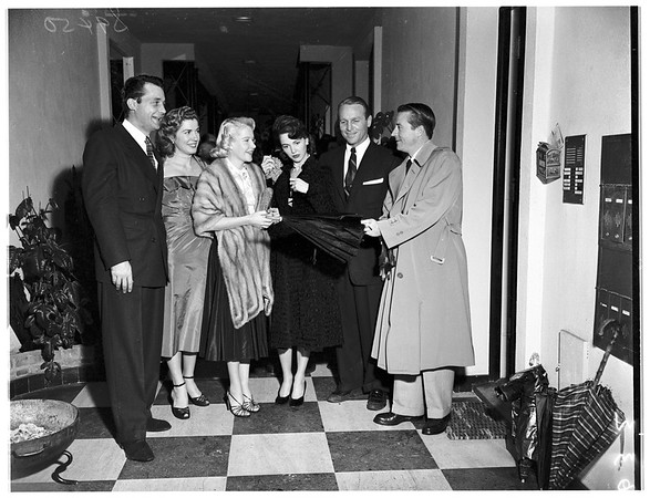 Open House party, 1951