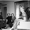 Party given by Mrs. Jane Rieber, 1951